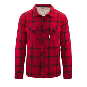 Topo Designs Field Plaid Camiseta Hombre, navy/red